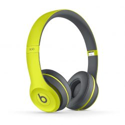 Beats Solo2 Wireless On-Ear Headphone, Active Collection – Shock Yellow-3
