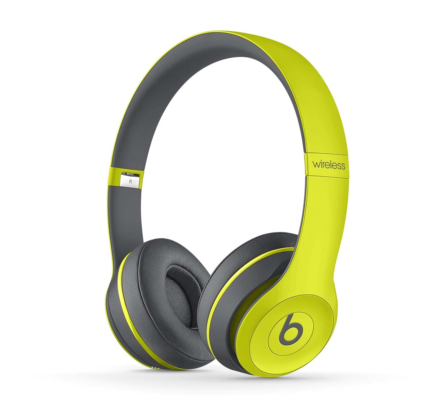 Beats Solo2 Wireless On-Ear Headphone, Active Collection – Shock Yellow