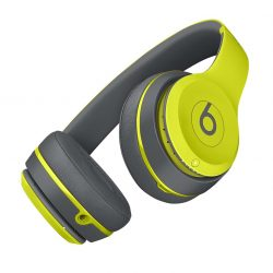 Beats Solo2 Wireless On-Ear Headphone, Active Collection – Shock Yellow-1