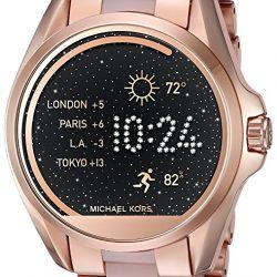 9c061205a6c5 Michael Kors Access Touch Screen Rose Gold Bradshaw Smartwatch MKT5004-0